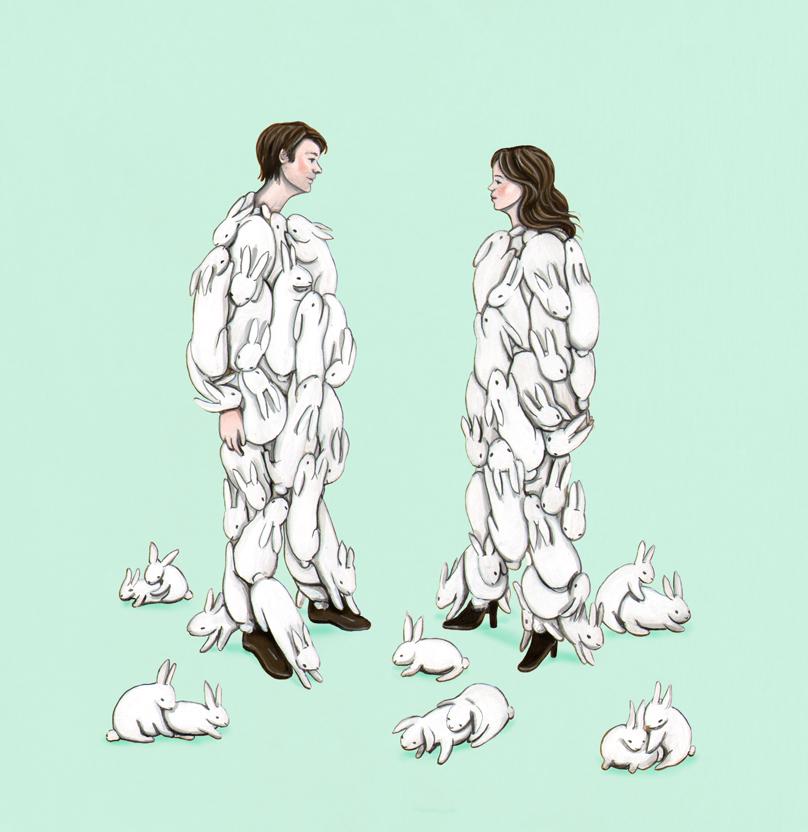 final version minus the naughty bunnies: