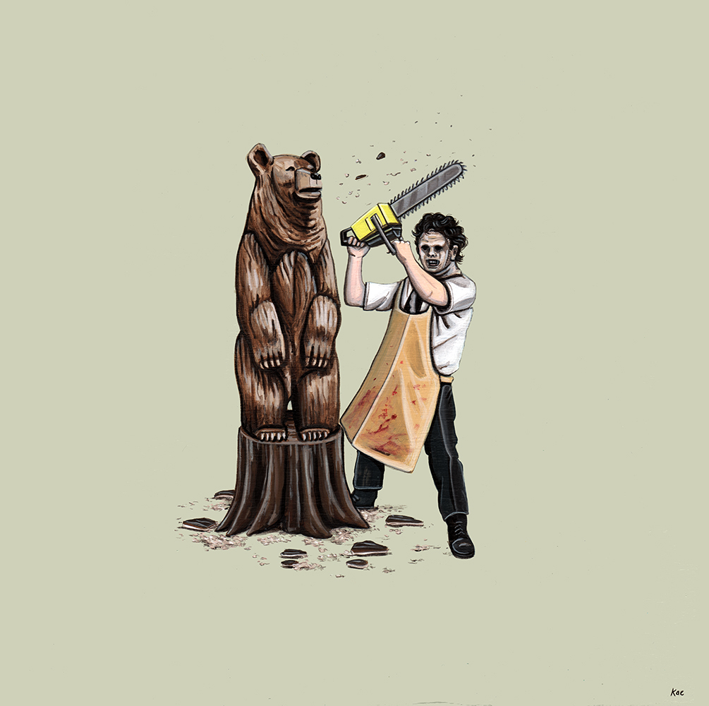 Leatherface's Secret Hobby